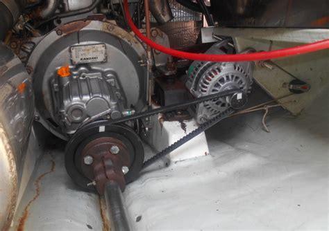 boat propeller generator life part 2 prop shaft driven alternator