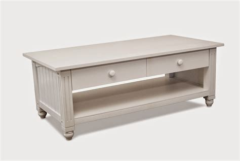 Lifestyle Solutions Antique White Coffee Table White Coffee Table