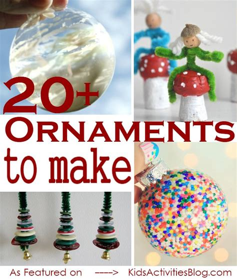 ornaments crafts 20 easy ornament crafts
