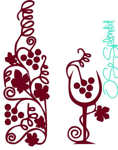 wine bottle svg 1000 images about svg templates clipart on pinterest