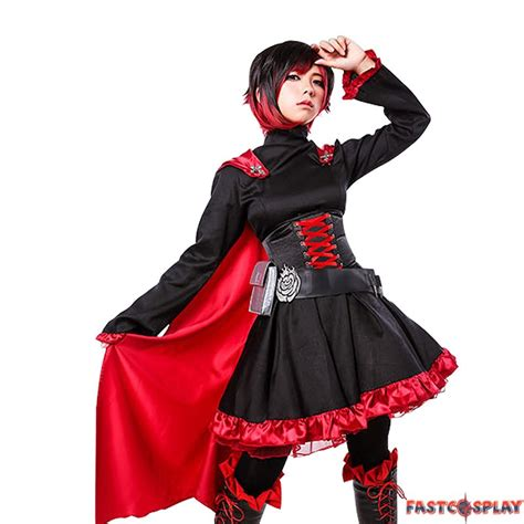 Anime Costumes by Rwby Trailer Ruby Costumes