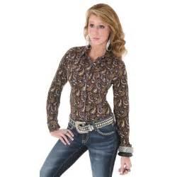 women s longsleeve shirts riley amp mccormick western wear