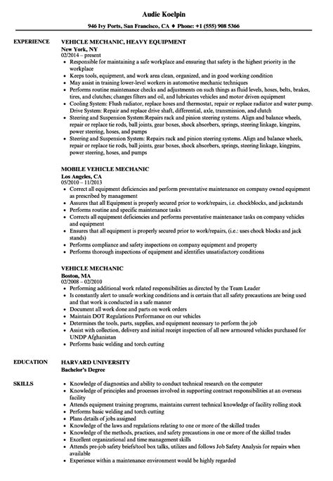 Math Coach Cover Letter by Vehicle Mechanic Sle Resume Circular Clerk Cover Letter