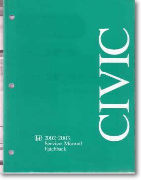 Diagrama Manual Honda 2002 2003