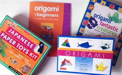 Origami Sets For Adults - school holidays origami sets from tuttle publishing