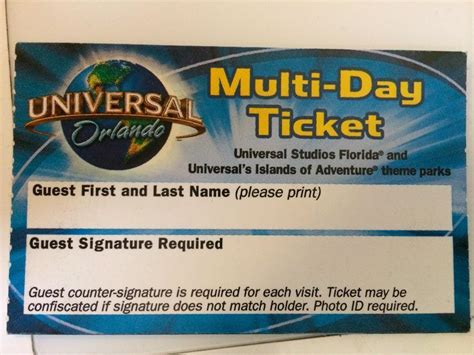 printable tickets universal studios orlando universal orlando multi day ticket in maidstone kent