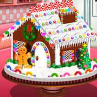 sara s cooking class gingerbread house cool sara games free online gamesocool