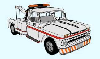 new paper craft 1966 chevrolet c20 towtruck free vehicle