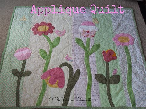 Applique Quilts by Hill House Homestead Applique Quilt
