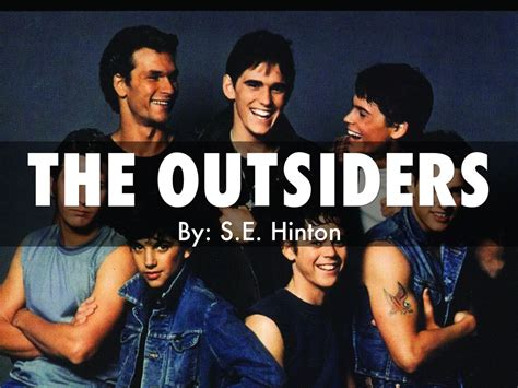 love themes in the outsiders the outsiders by amrit2000