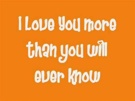 i love you more than you know nevershoutnever i love you more than you will ever know