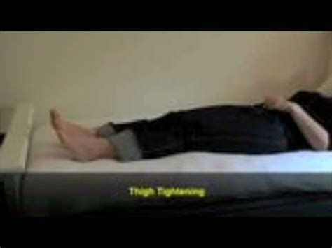 bed exercises bed exercises for hospital patients youtube