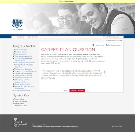 How To Answer On A Application Common Errors In Applications Chevening