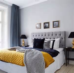 Grey And Gold Bedroom by Beautiful Bed Bedroom Black Blue Cozy Curtains Dark