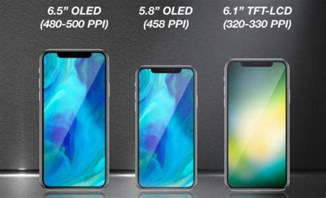 iphone lineup apple s 2018 lineup could three notched bezel less iphones neowin
