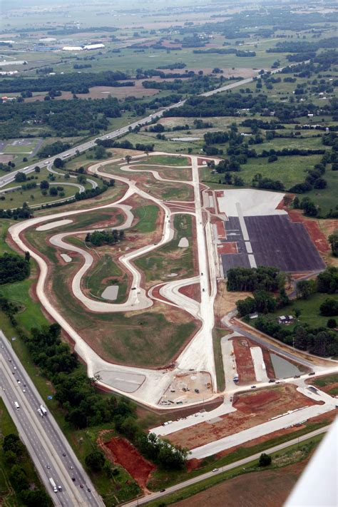 national corvette museum motorsports park new aerial photos show progress on national corvette