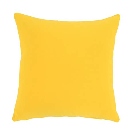Yellow Outdoor Pillow   El Dorado Furniture