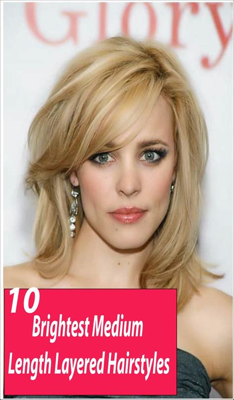easy to manage hair cuts 1000 ideas about medium length layered hairstyles on