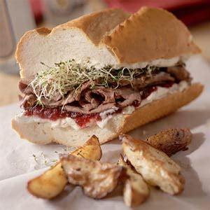 Fast Easy Dinner Open Roast Beef Sandwich by Fast Easy Dinner Tangy Roast Beef Sandwiches Popsugar