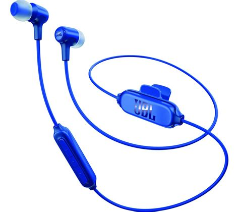 Jbl In Ear Wireless Earphone E25 jbl e25bt wireless bluetooth headphones blue deals pc
