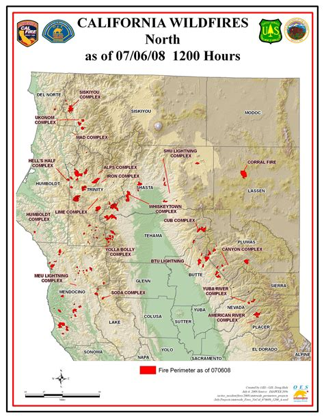 map of fires in california disaster relief operation map archives