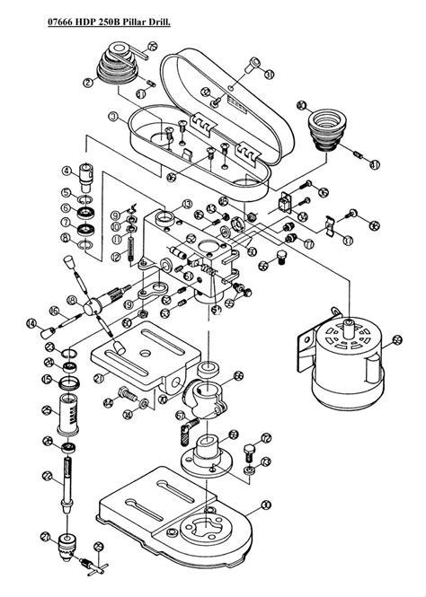 sip  hdp  pillar drill diagram