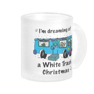 white trash christmas mugs christmas gift ideas pinterest