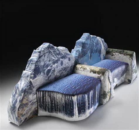 weird couches sofas salty peaks unusual sofa designs design swan