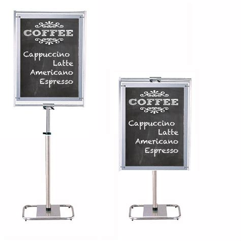 contemporary chalkboard stand
