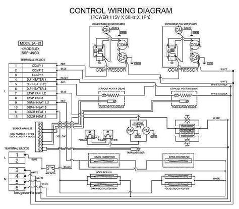 true refrigeration wiring diagram true