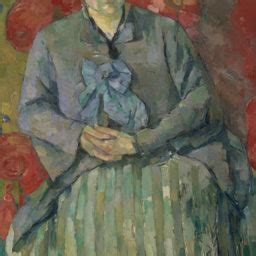 Madame Cezanne In A Armchair by New York Museums Guide November 2014 Artnet News
