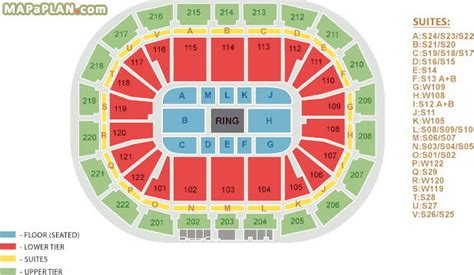 Nec Birmingham Floor Plan by Manchester Arena Seating Plan Detailed Seat Numbers