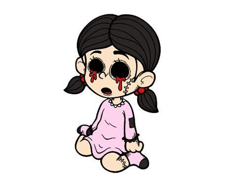 imagenes de ojos para halloween dibujo de ni 241 a sin ojos pintado por en dibujos net el d 237 a