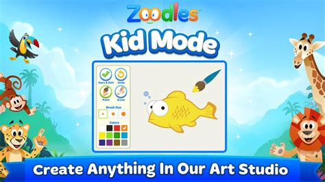 zoodles apk kid mode free learning 6 0 5244 apk android education apps