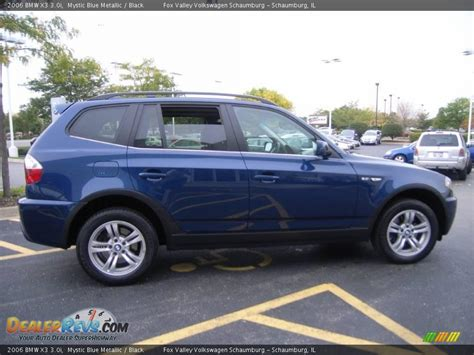 2006 bmw x3 3 0i 2006 bmw x3 3 0i mystic blue metallic black photo 7