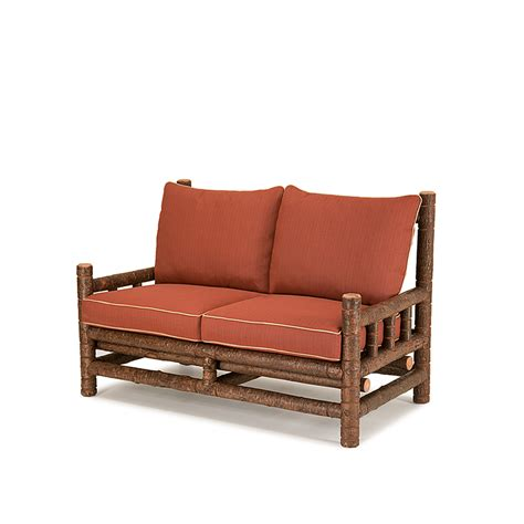 rustic loveseat rustic loveseat la lune collection