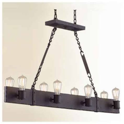 wrought iron kitchen island troy f2506cb jackson 8 light wrought iron kitchen island
