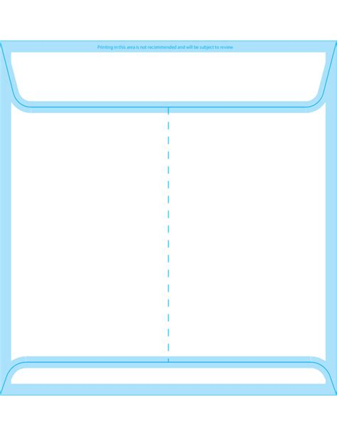 square envelopes 8 x 8 back free