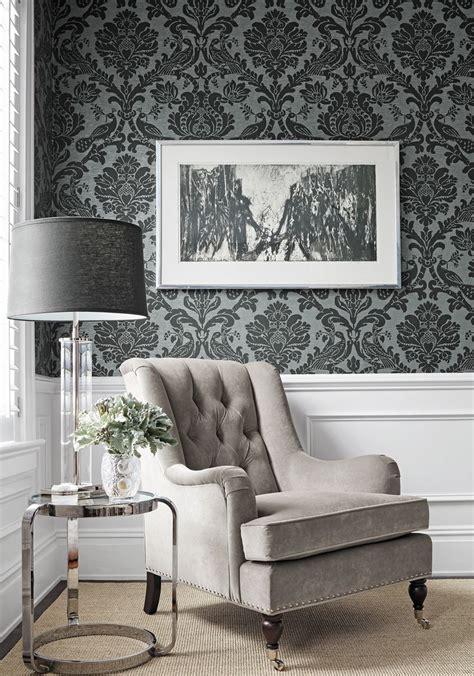 damask living room black and white damask furniture damask living rooms on