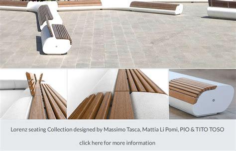 sedute componibili sedute componibili da esterno in legno e pietra