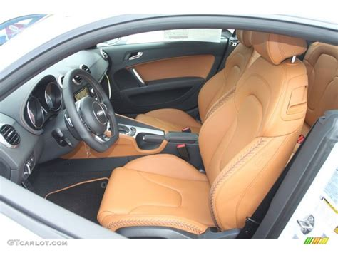 Audi Tt Baseball Interior by Madras Brown Baseball Optic Leather Interior 2013 Audi Tt