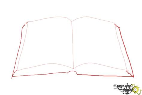 L Drawing Book by How To Draw An Open Book Drawingnow