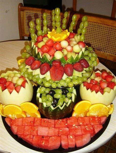 fruit centerpieces frutas decoradas arreglos frutales fruit arrangements