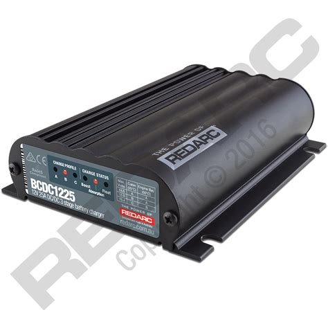 Baterai Charge 25a in vehicle dc battery charger redarc electronics