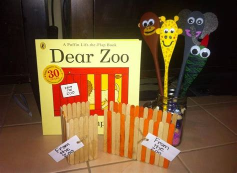 themes zoo story 17 best images about spoon puppets on pinterest dear zoo