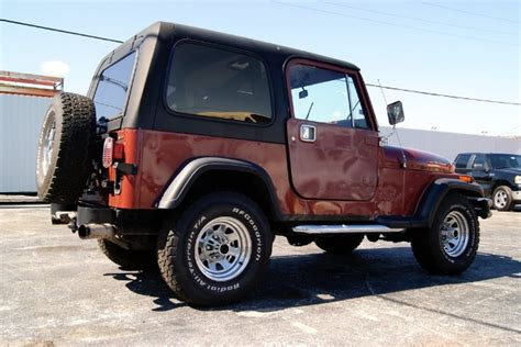 1986 Jeep Wrangler 1986 Jeep Wrangler Stock Lll Ky17 6863 For Sale Near