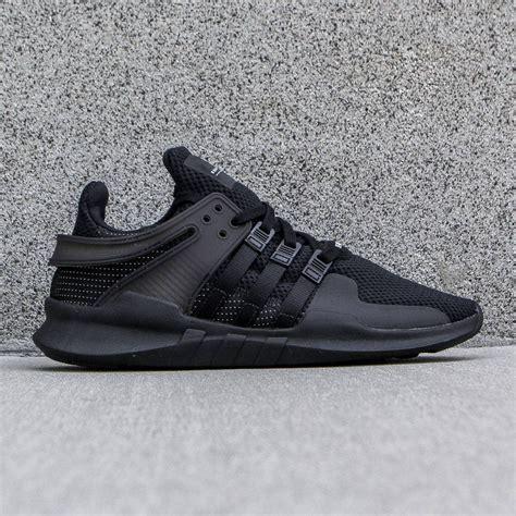 adidas men shoes adidas men eqt support adv black core black vintage