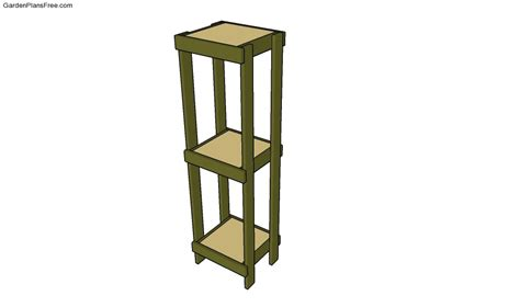 Plant Stand Outdoor Plant Stand Plans Plans Diy Free Wood End