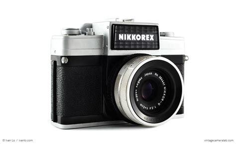 nikon nikkorex  ii vintage camera lab