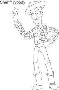 woody template woody sheriff coloring page for